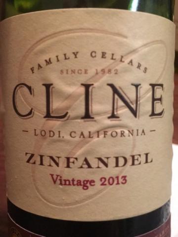 Cline - Lodi Zinfandel - 2013