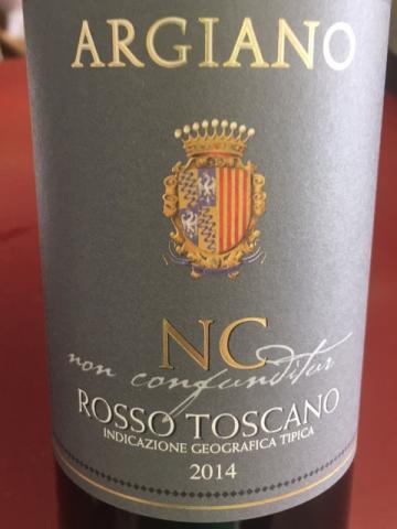 Argiano - NC Non Confunditur Toscana - 2014