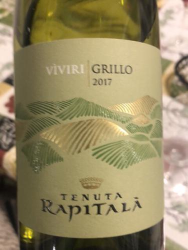 Tenuta Rapitalà - Viviri Grillo - 2017
