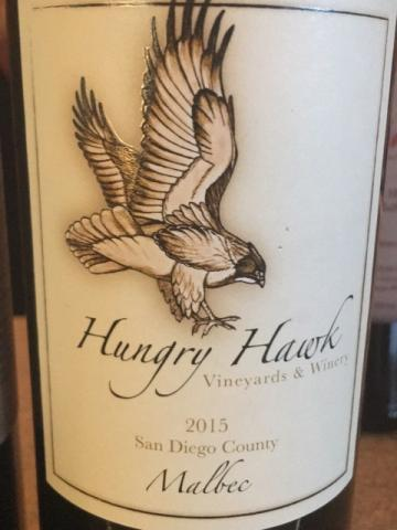 Hungry Hawk Vineyards - Malbec - 2015
