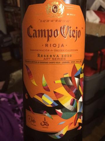 Campo Viejo - Art Series Rioja Reserva - 2010