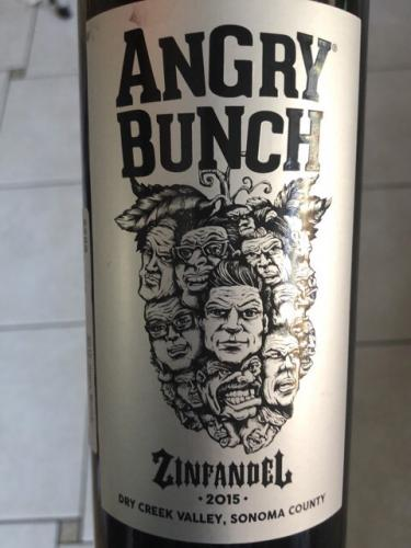 Angry Bunch - Zinfandel - 2015