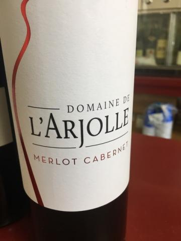 Domaine de l'Arjolle - Merlot - Cabernet - 2014