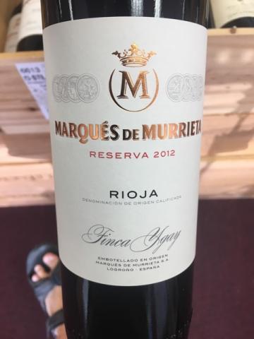 Marqués de Murrieta - Reserva Rioja - 2012