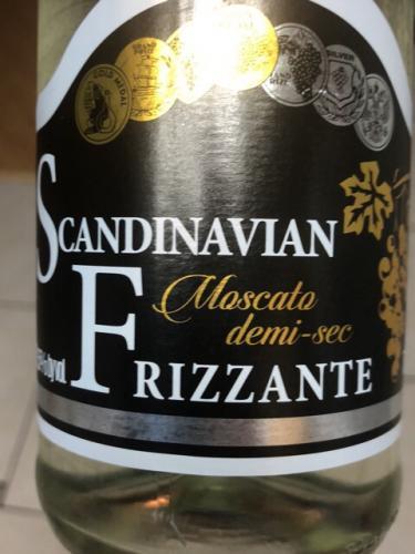 Scandinavian - Frizzante Moscato Demi Sec - N.V.