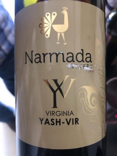 Narmada Winery - Yash-Vir Virginia - 2017