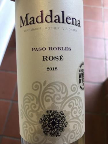 Maddalena Vineyards - Rosé - 2018
