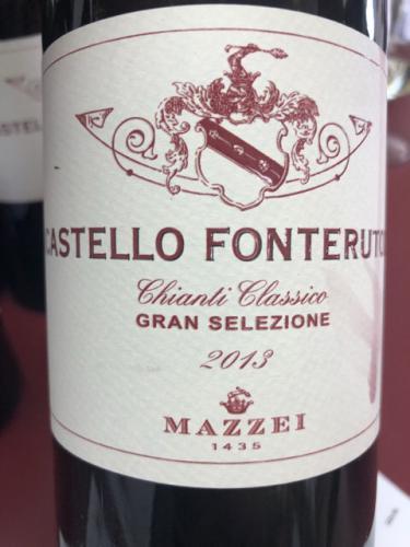 Mazzei - Castello Fonterutoli Chianti Classico Gran Selezione - 2013