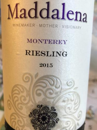 Maddalena Vineyards - Riesling - 2015