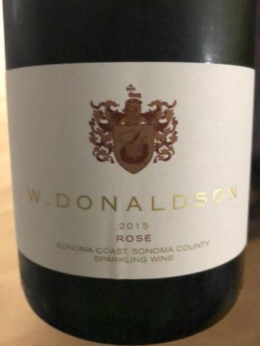 W. Donaldson - Rosé - 2015