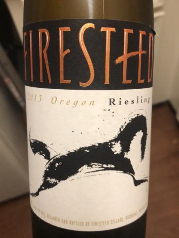 Firesteed - Riesling Oregon - 2013