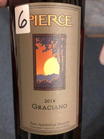 Pierce - Graciano - 2014