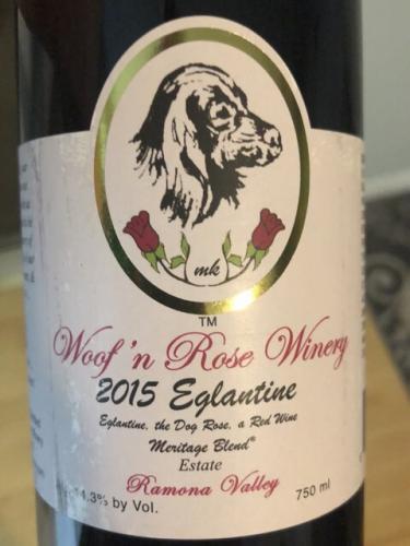 Woof n Rose - Eglantine - 2015