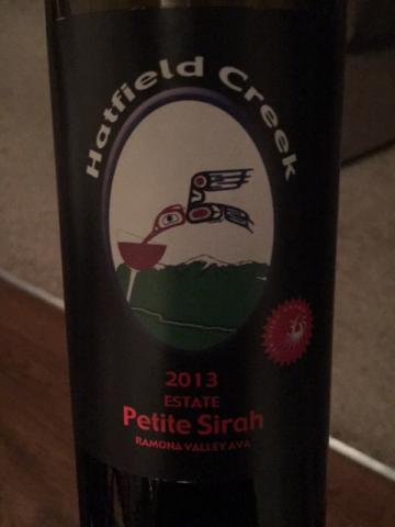Hatfield Creek - Petite Sirah - 2014