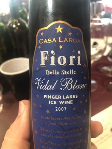 Casa Larga - Fiori delle Stelle Vidal Blanc Ice Wine - 2007