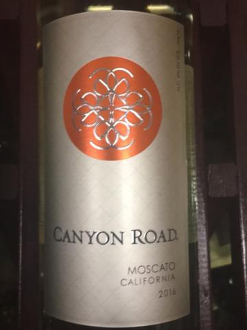 Canyon Road - Moscato - 2014
