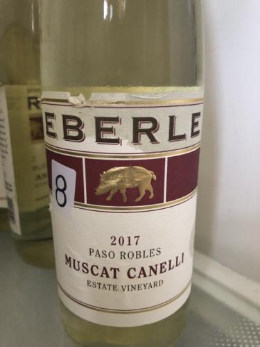 Eberle - Muscat Canelli - 2017