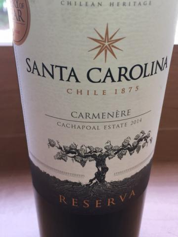Santa Carolina - Cachapoal Estate Reserva Carmenère - 2015