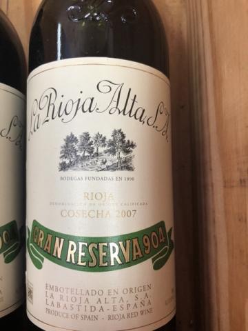 La Rioja Alta - Rioja Gran Reserva 904 - 2007