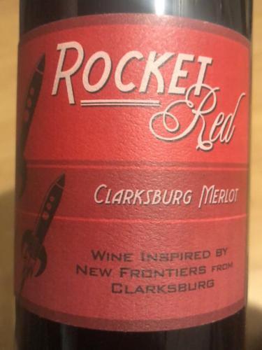 Red Rocket - Clarksburg Merlot - N.V.