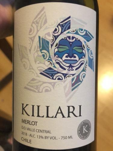 Cremaschi Furlotti - Killari Merlot - 2018