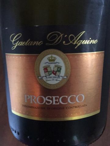 Gaetano d'Aquino - Prosecco - N.V.