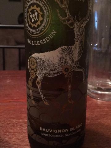 Hillersden - Marlborough Sauvignon Blanc - 2014