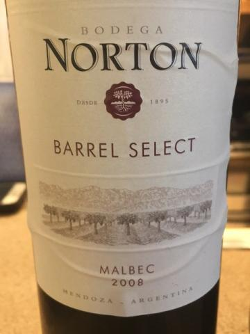Norton - Barrel Select Malbec - 2008