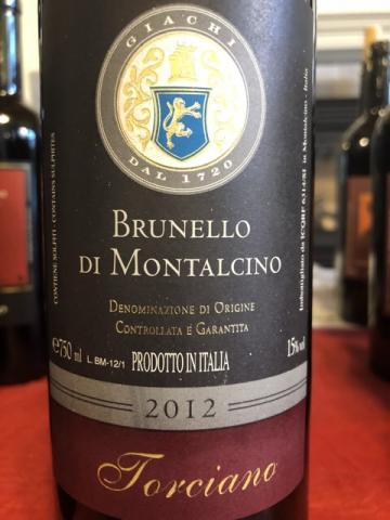 Torciano - Brunello di Montalcino - 2012