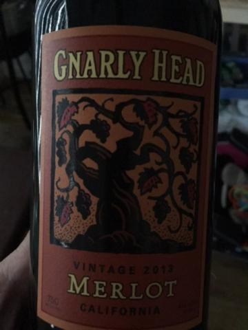 Gnarly Head - Merlot - 2013