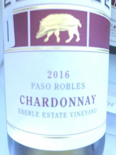 Eberle - Eberle Estate Vineyard Chardonnay - 2016