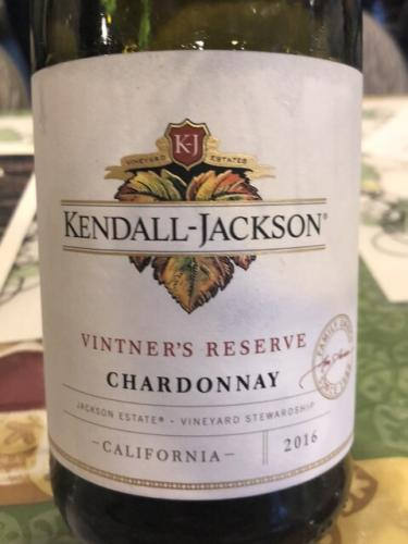 Kendall-Jackson - Vintner's Reserve Chardonnay - 2016