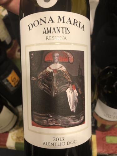 Dona Maria - Amantis Reserva Tinto - 2013
