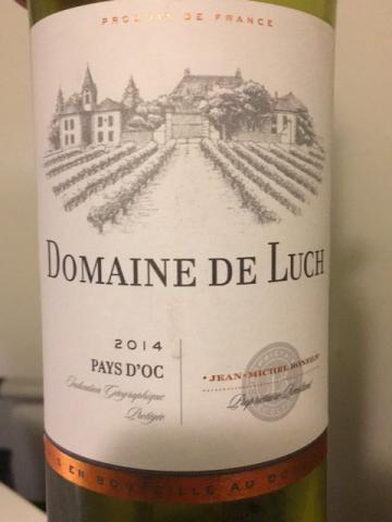 Domaine de Luch - Blanc - 2014