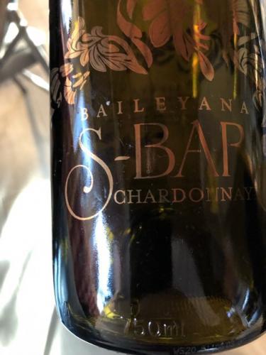 Baileyana - S-Bar Chardonnay - 2017