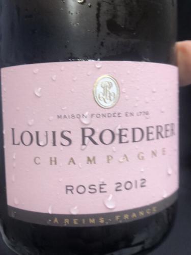 Louis Roederer - Rosé Brut Champagne (Vintage) - 2012