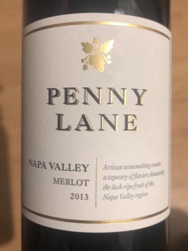 Penny Lane - Merlot - 2013