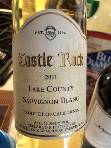 Castle Rock - Lake County Sauvignon Blanc - 2011