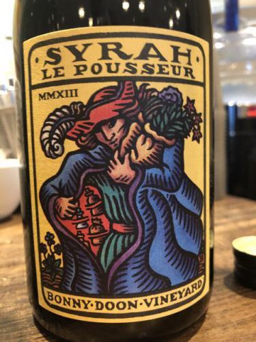 Bonny Doon - Le Pousseur Syrah - 2013
