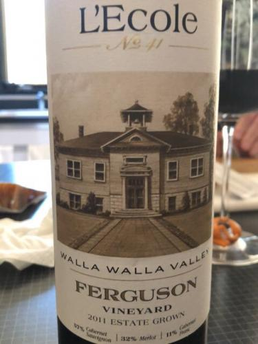 L'Ecole No 41 - Ferguson Vineyard - 2011