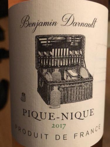 Benjamin Darnault - Pique-Nique Rosé - 2017