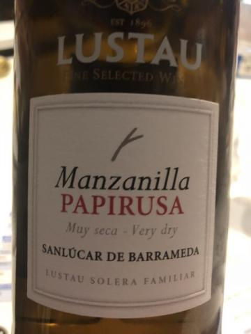 Lustau - Manzanilla Papirusa Sanlúcar de Barrameda - N.V.