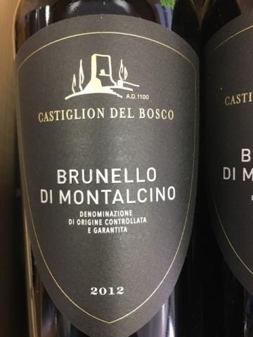 Castiglion del Bosco - Brunello di Montalcino - 2012