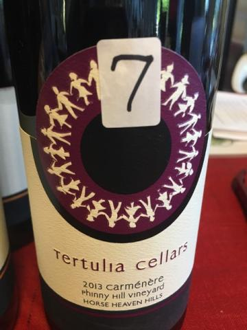Tertulia Cellars - Phinny Hill Vineyard Carménère - 2013