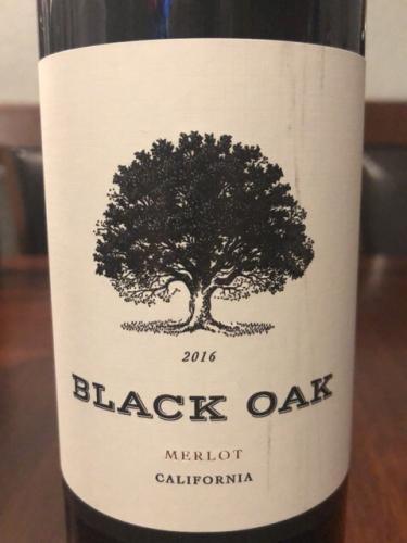Black Oak - Merlot - 2016