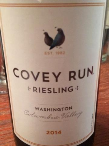 Covey Run - Riesling - 2014