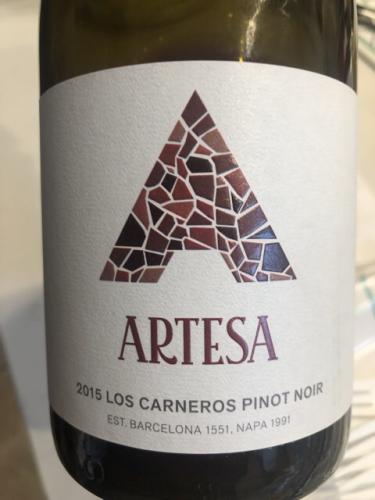 Artesa - Pinot Noir - 2015