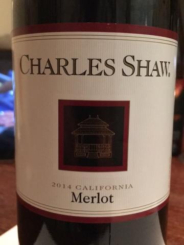 Charles Shaw - Merlot - 2014