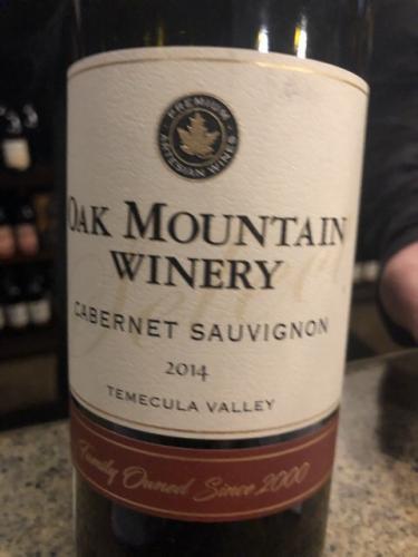 Oak Mountain - Estate Cabernet Sauvignon - 2014