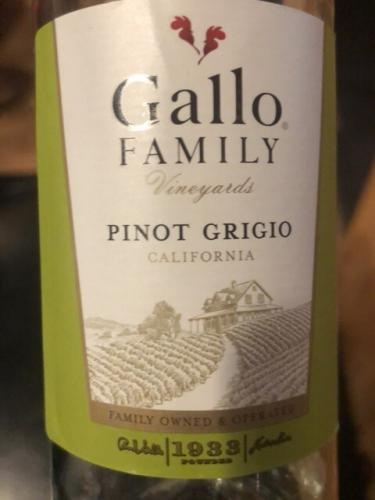 Gallo Family Vineyards - Pinot Grigio - N.V.